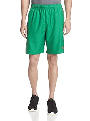 Umbro Men's Aztec Stripe Soccer Short (Mexico Jelly Bean)
