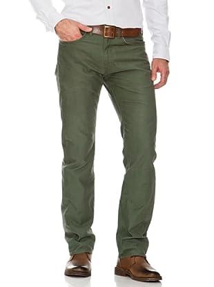 Dockers Pantalón 5 Bolsillos (verde caza)