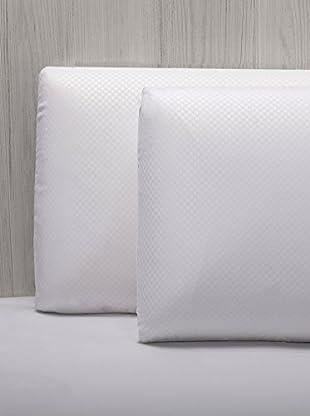 Pikolin Home Pack Guanciale Viscoelastico Doppia Fodera 35X70