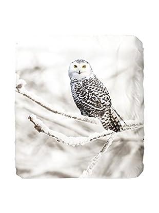 Good Morning Bettdecke und Kissenbezug Snowy Owl