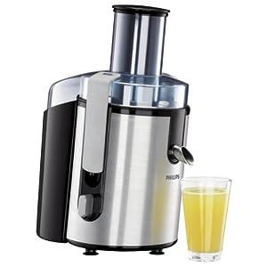 Philips Aluminium Collection HR1861 Fruit Juicer with Juice Jug