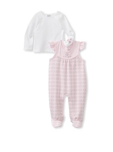 KANZ Baby 2-Piece Romper Set (Pink)
