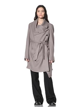 Ann Demeulemeester Women's Elfed Coat (Muddy)