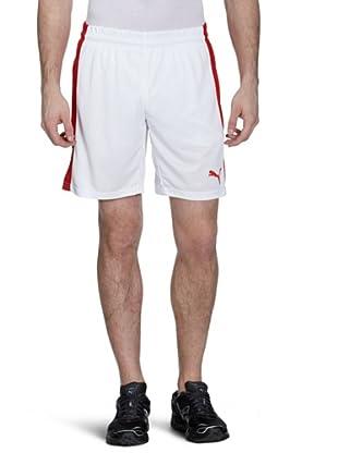 Puma Shorts PowerCat (white-puma red)