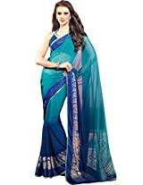 Tagbury georgette saree