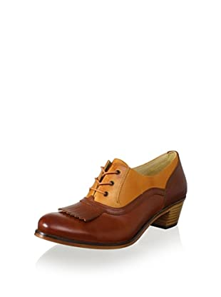Samantha Pleet for Wolverine Women's Nesbit 1000 Mile Oxford (Tan/Dark Tan)
