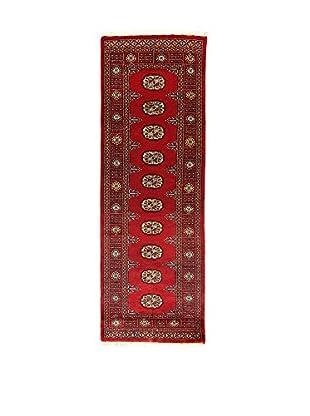 L'Eden del Tappeto Teppich Kashmirian rot 218t x t75 cm