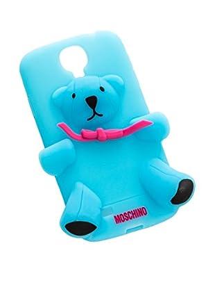 MOSCHINO Case Samsung S4 blau
