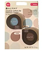 Almay Shadow Softies By Intense I-color Seafoam and Smoke (2 Pack Combo)
