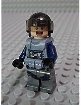 Lego Minifig Jurassic World 004 Acu Trooper B