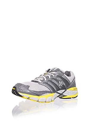 K-Swiss Men's Keahou II Running Shoe (Gull Grey/Charcoal/Yellow)