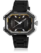 3100Sp02-Dc567 Black/Black Analog Watch Fastrack
