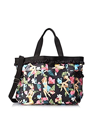 Benefit for LeSportsac Women's Petite Temptress Travel Tote (Lava Voom Ruffle)