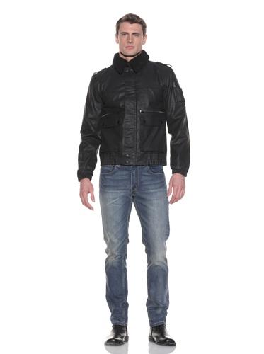 MG Black Label Men's Nitrogen Coated Cotton Jacket (Onyx)