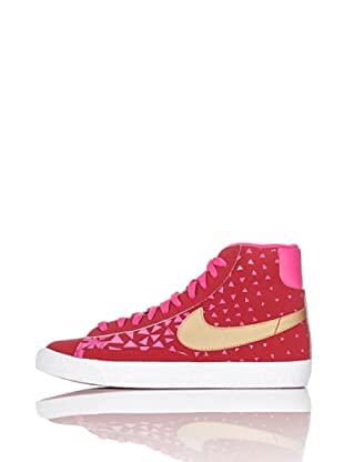 Nike Zapatillas Blazer Mid Vintage (Gs) (Rojo/Rosa/Oro)