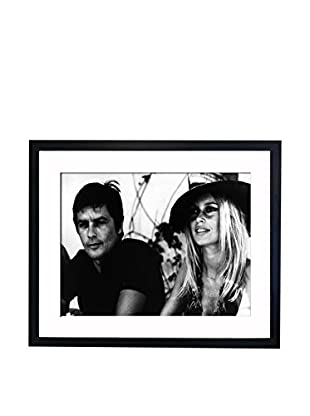 Mazali - Culture Décor Wandbild Alain Delon, Bridget Bardot