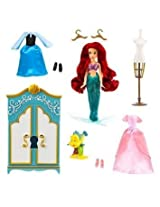Disney Store Ariel Wardrobe Play Set