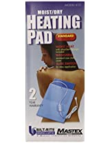 Bilt-Rite Mastex Health Economy Standard Heating Pad, Blue