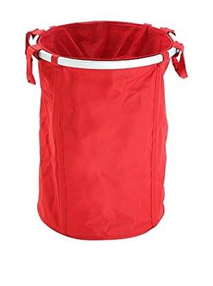 Zings Wäschekorb rot