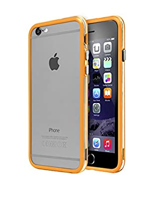 Unotec Case mit Stoßfänger/Kante iPhone 6 Plus orange