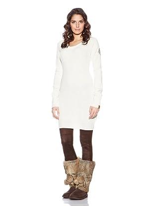 Evaw Wave Vestido Matrika (Blanco)