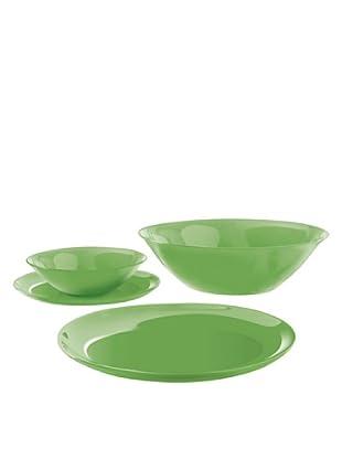 Luminarc Vajilla Redonda 19 Piezas Modelo Green Arty