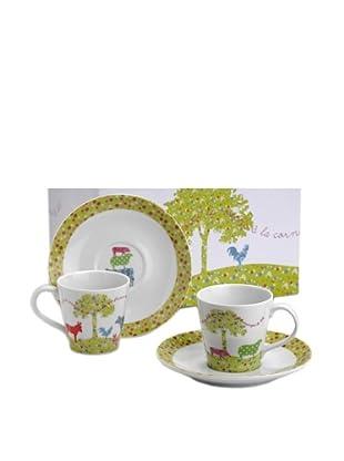 Amadeus Caja 6 Tazas Porcelana
