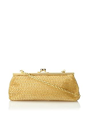 Inge Christopher Women's Dashing Beaded Clutch, Gold