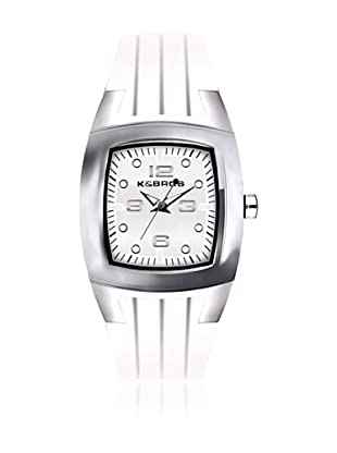 K&Bros  Reloj 9103 (Blanco)