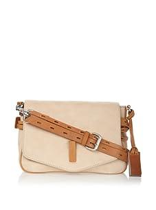 Gryson Women's Ellie Belted Small Shoulder Bag (Beige Calf)