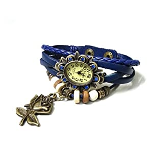 Vintage Collection Blue Bracelet Wrist Watch