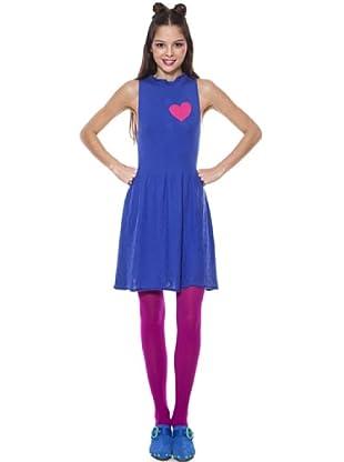 Agatha Ruiz De La Prada Vestido Tricot Heart (Azul)