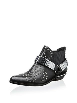 Schutz Women's Aria Ankle Bootie (Black)
