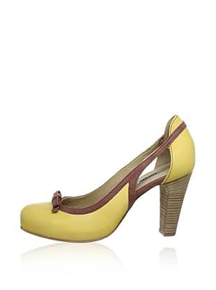 Manas Zapatos Lazo (Amarillo / Marrón)