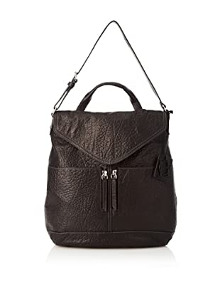OH by Joy Gryson Women's Unzipped Flap Hobo (Black)