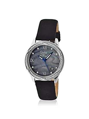 Sophie and Freda Women's SAFSF2002 Los Angeles Black Leather Watch