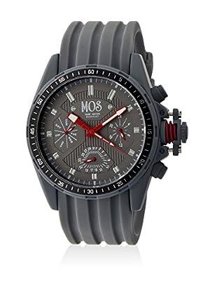 Mos Reloj con movimiento cuarzo japonés Mossm105 Gris 45  mm
