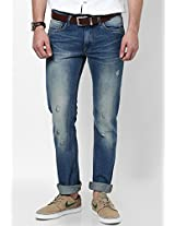Blue Slim Fit Jeans Ed Hardy