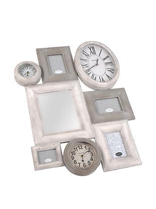 Amadeus Portafotos Múltiple + Relojes Edgard 79 x 60 cm Madera