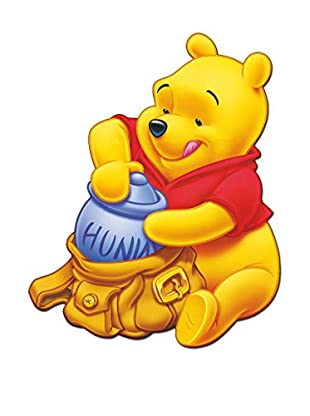 Artopweb Wandbild Disney Winnie Pooh Bunt
