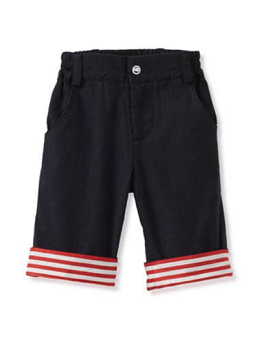 A for Apple Kin Shorts (Navy)