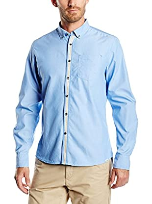 Springfield Camisa Hombre Tape Contrast