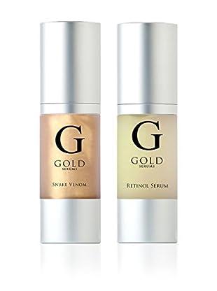 Gold Serums Gesichtspflegeset 2 tlg. Set