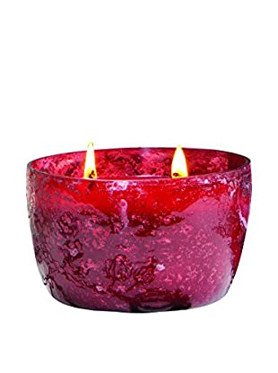 San Miguel 14-Oz. Double Wick Candle, Crimson