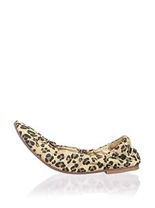 Matt Bernson Women's Waverly Ballet Flat (Leopard)