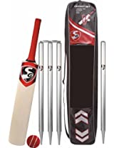 SG VS319 Pro Cricket Set (Bat, Ball,4 Stumps and 2 Bails)