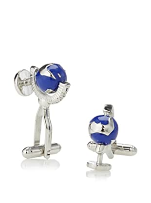 Link Up Spinning Globe Cufflinks