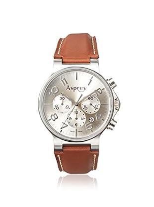 Asprey of London Men's 1008254 Brown/Silver Stainless Steel Watch