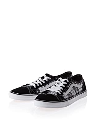 Vans Devan VL985HF Damen Sneaker (Schwarz ((Dash Plaid) black/white))