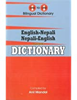 English-Nepali & Nepali-English One-to-One Dictionary. Script & Roman (Exam-Suitable) 2013